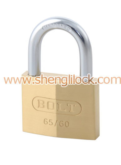 BRASS DIAMOND PADLOCK