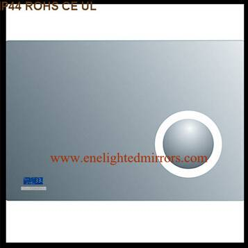 Lighted bathroom wall mirror produced by ENE LIGHTED MIRRORS from China accepted custom oem odm
