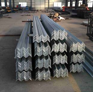 Hot dipped galvanized steel angle
