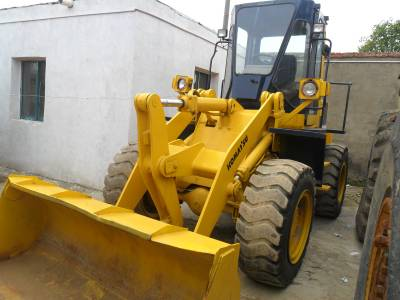 used komatsu WA100 wheel loader for sale
