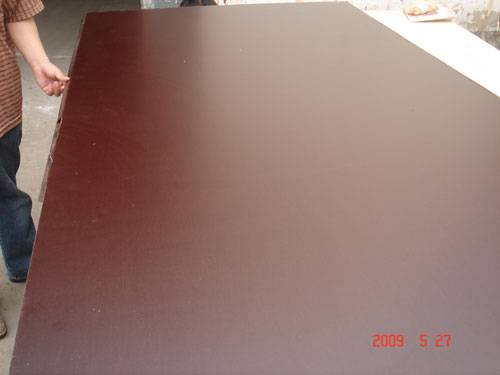 supply chinese brown film faced plywood