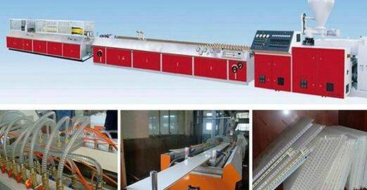 PVC Gusset Plate/ Pinch Plate Ceiling and Wll Panel Extrusion Line