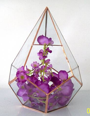 Best Selling Plant Geometric Glass Terrarium For Home Decor