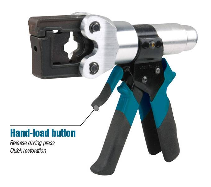 9.	Hydraulic crimping tool Safety system inside HT-150