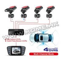 4 Cameras 360 Degree Car DVR CR900
