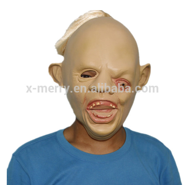 X-MERRY TOY Full Head Sloth Creepy Mask Horror Costume Party Props x14045A