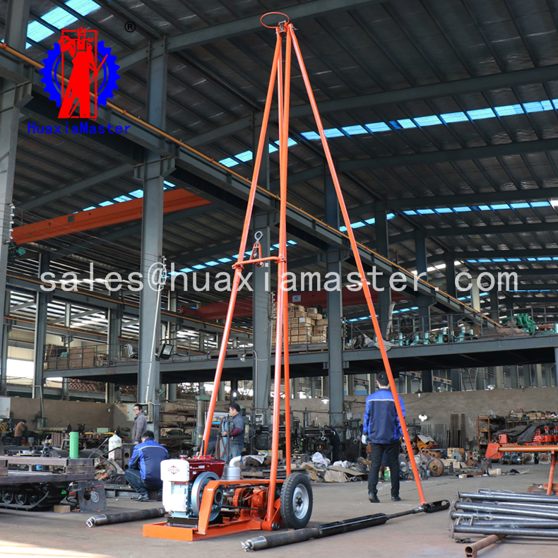 Direct supply SH30-2A engineering expoloration rig/sand mine sample drilling rig/impact drill machin
