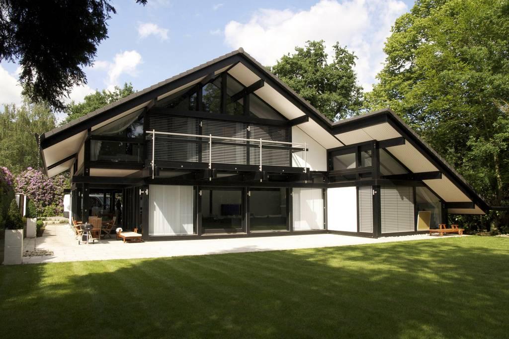 romantic economic prefabricated villa 2 storey house