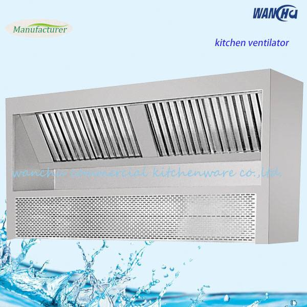 Filter kitchen fume hood/heavy duty industrial kitchen range hood