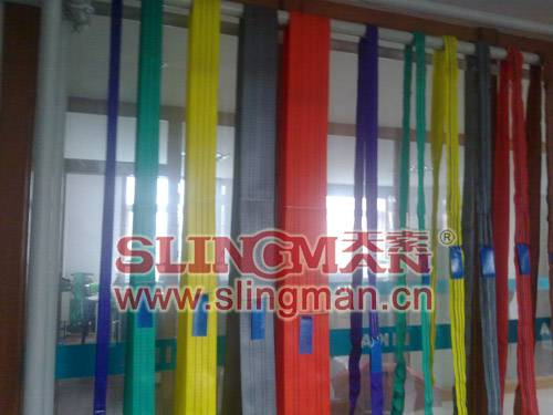 China supplier endless Polyester webbing sling lifting belt synthetic lifting sling lifting band heb