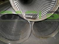 All-welded continuous slot Johnson type well screens