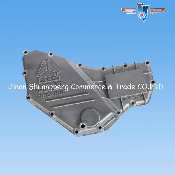 Sinotruk howo parts oil cooler cover