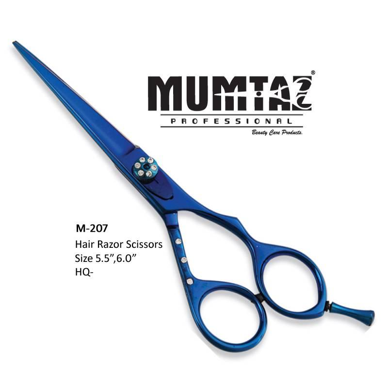 Professional Titanium Blue Scissors