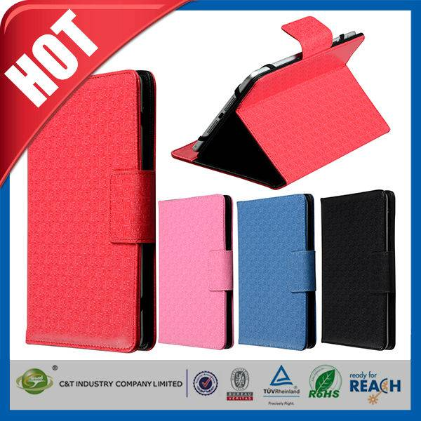 C&T New Luxury Class style pu leather stand case for ipad air 2