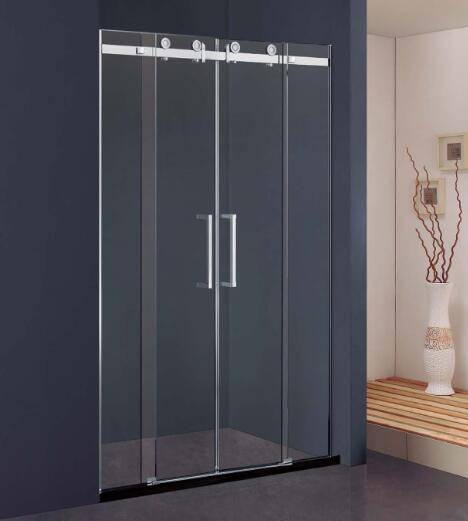 SS304 Double-Doors Sliding Shower Screen(Kd8114)