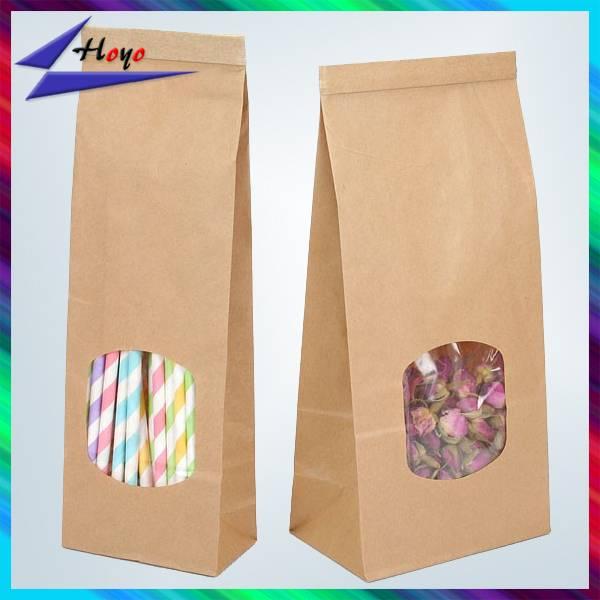 Hand Length kraft paper Material kraft paper bag