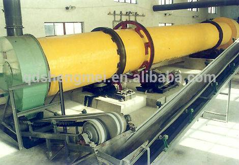 cylinder sand cooling machine