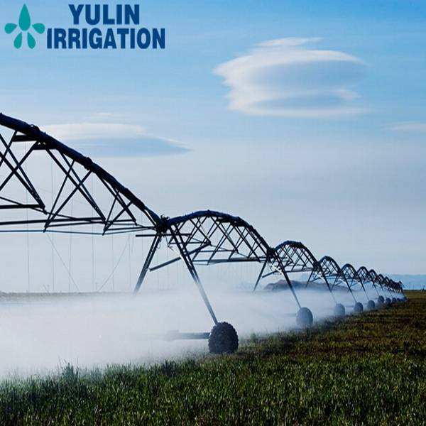 Hot Dip Galvanized Steel Pipes Center Pivot Spraying Irrigation System