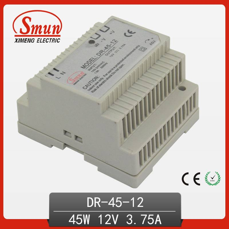 nonwaterproof single output dinrail switching pwoer supply