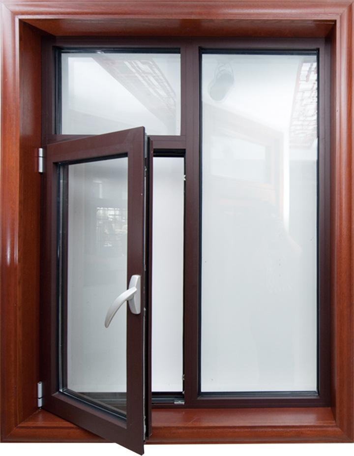 thermal break aluminum casement windows with double or triple glazing for house replacement or new