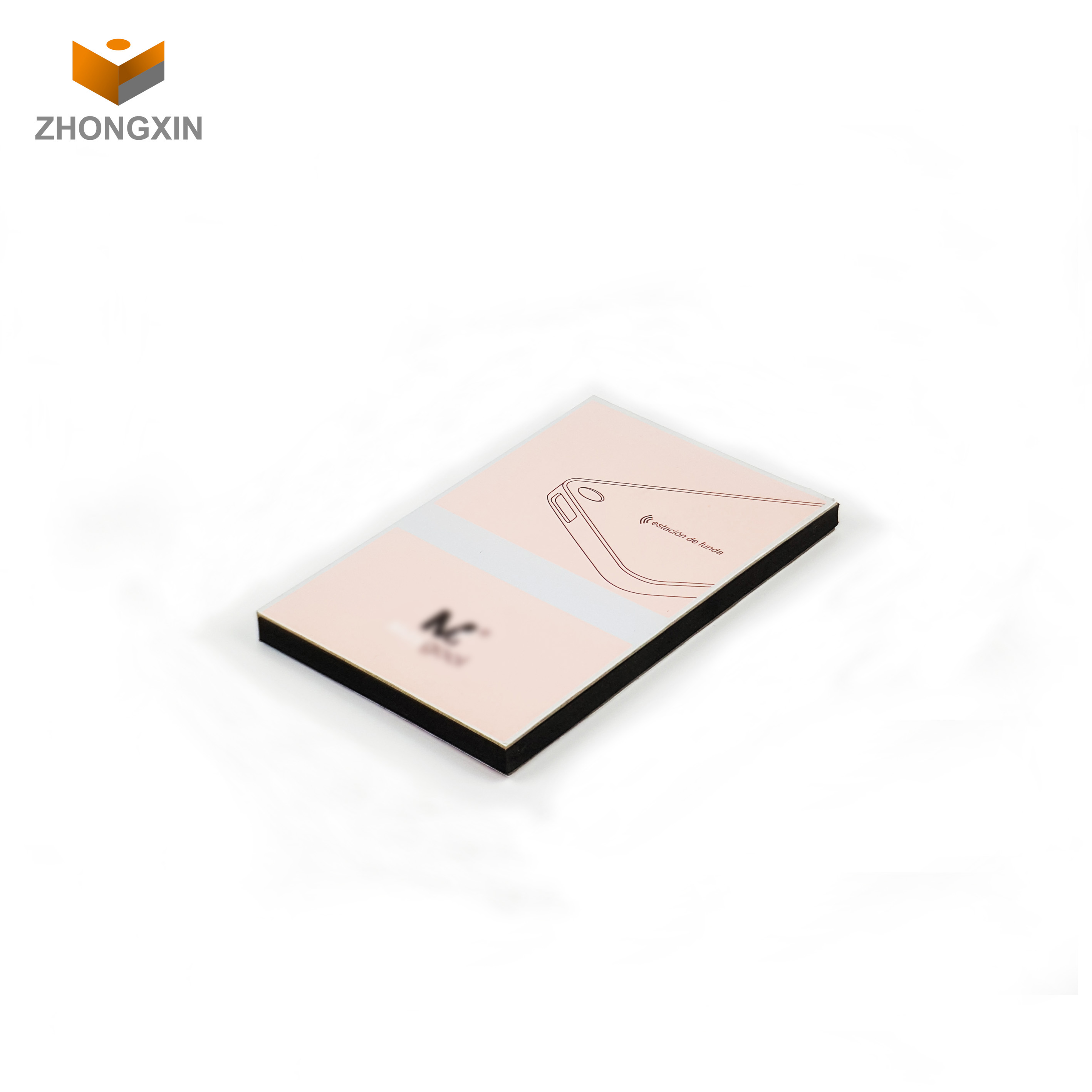 book shaped style packaging screen protector