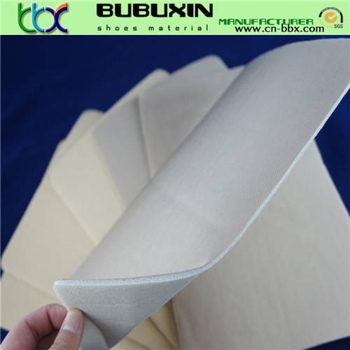 Bag material PU oxford cloth with memory sponge