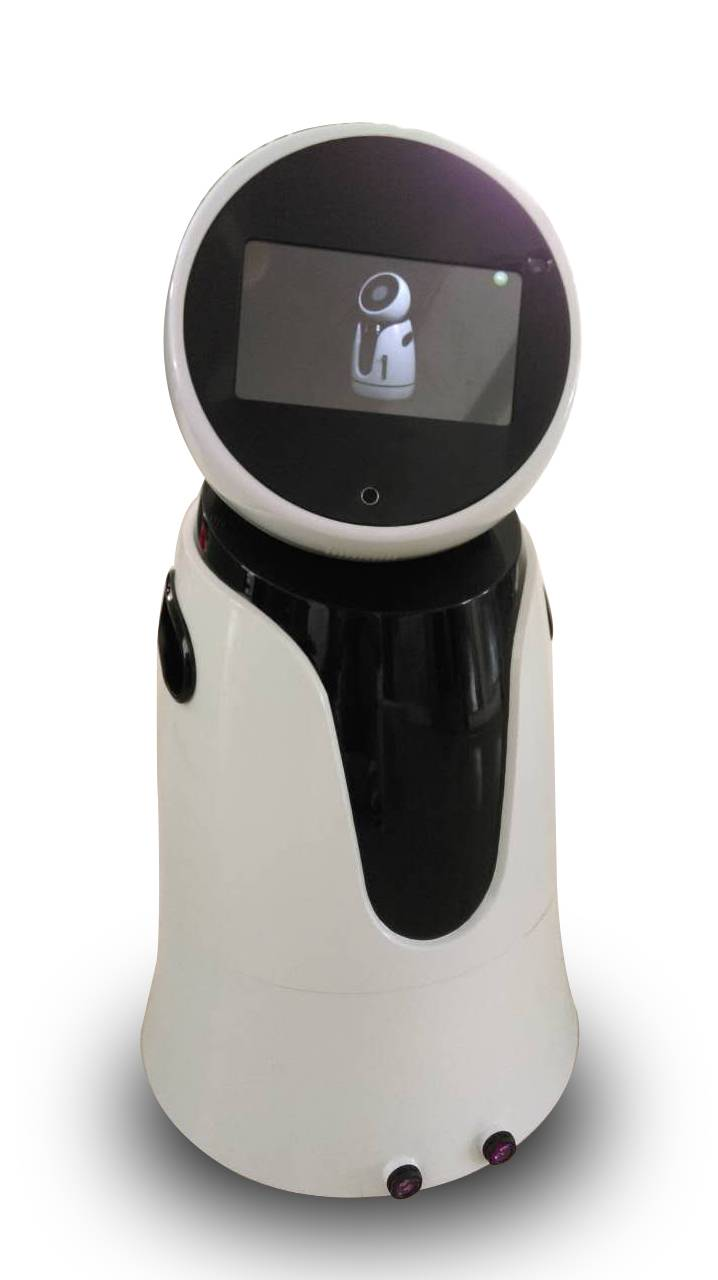 Electronics Walking Robot Innovative Smart Healthcare Device Connected Tablet with IP Camera and Wif