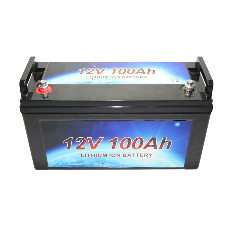 deep cycle rechargeable battery 12V 100ah solar lithiumion battery
