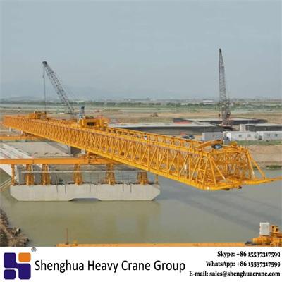 China HSHCL Professional 200 ton bridge girder erection launching crane to move girder