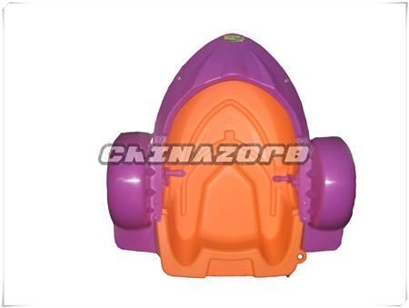 Quality engineering plastic children aqua hand paddle boat good price