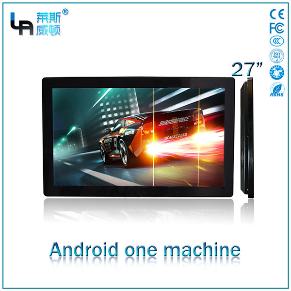 LASVD 27inch Android projected capacitive touch all-in-one machine