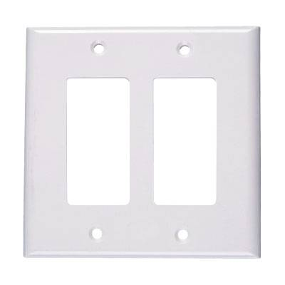 Network Wall Plate 2-gang