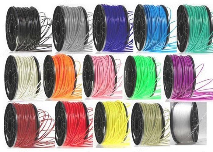 1.75mm PLA filament for FDM 3D printers