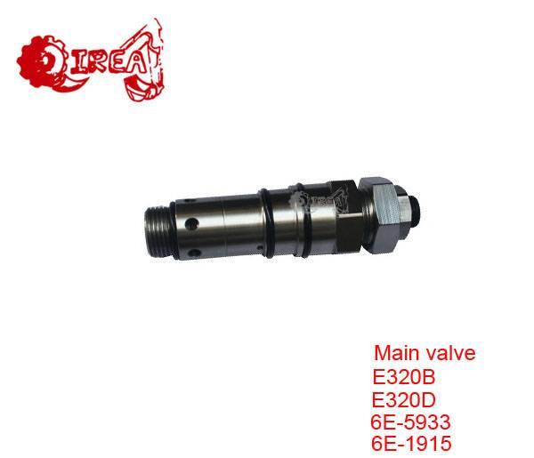 excavator relief valves  E330bl E320B E320C 6E-5933 119-5338 main control valve