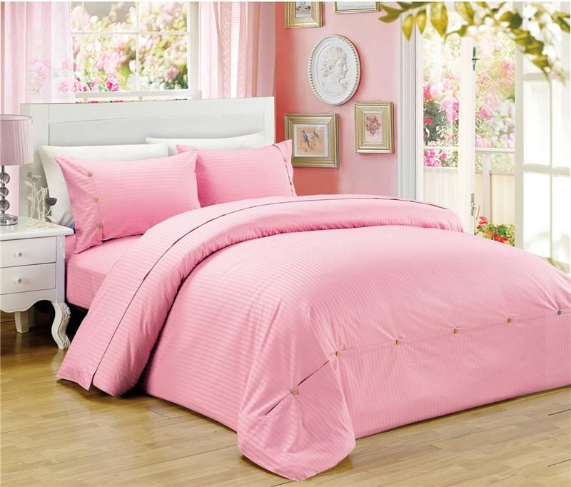 Solid Color Healthy Bedding Set Duvet Cover Set
