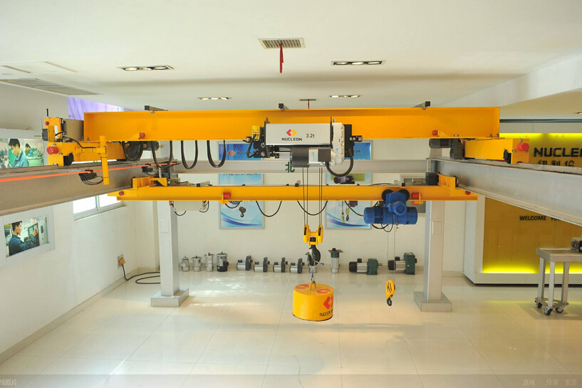 2017 High Quality Electric 20 ton EOT Crane Price with Rail Way System
