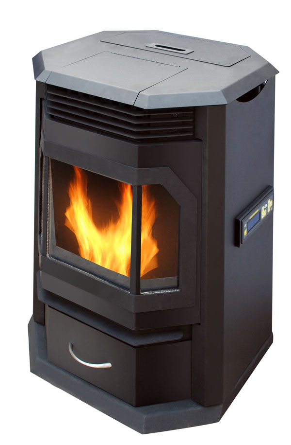 KJG-PA-01 Pellet Stove with Remote Control