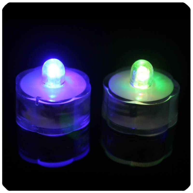 Wedding Decoration Battery Operated Submersible Led Lights