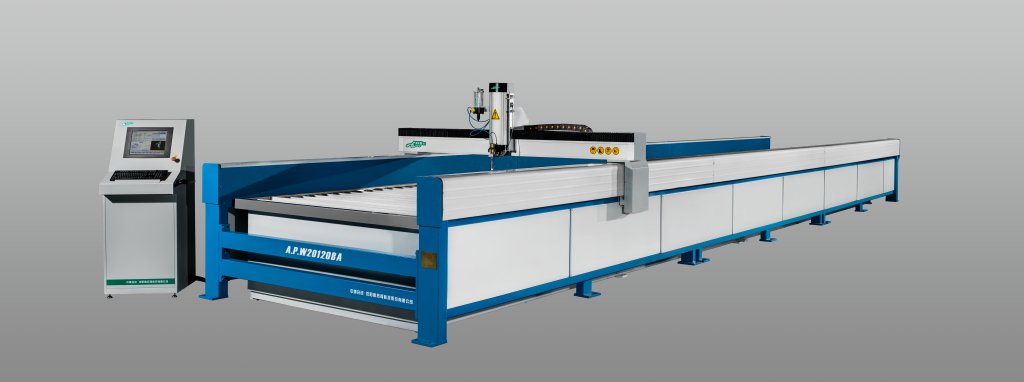 CNC ultra-high pressure waterjet metal cutter