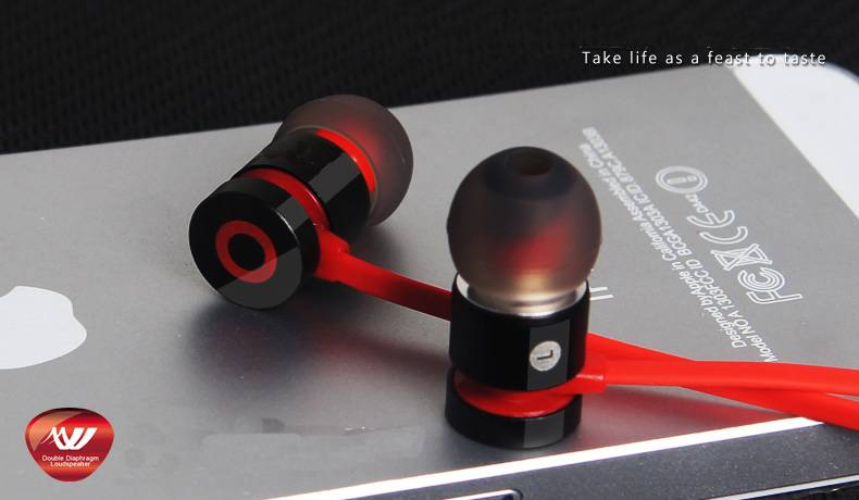 mobile phone earphone with Mic function
