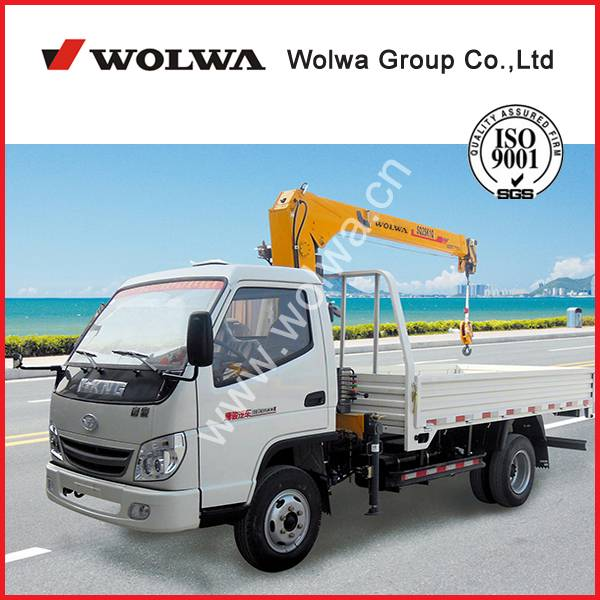 manufacturer directly supply 3 tons truck mounted crane