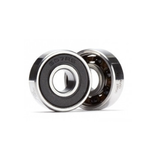 7x19x6mm Ceramic front RC engine bearing 607-RS/C with Si3N4 ceramic balls