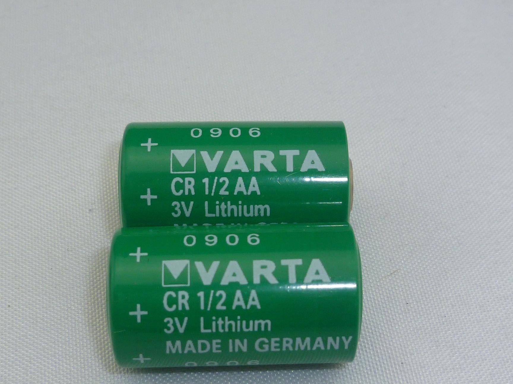 VARTA 3V Lithium Battery CR1/2AA