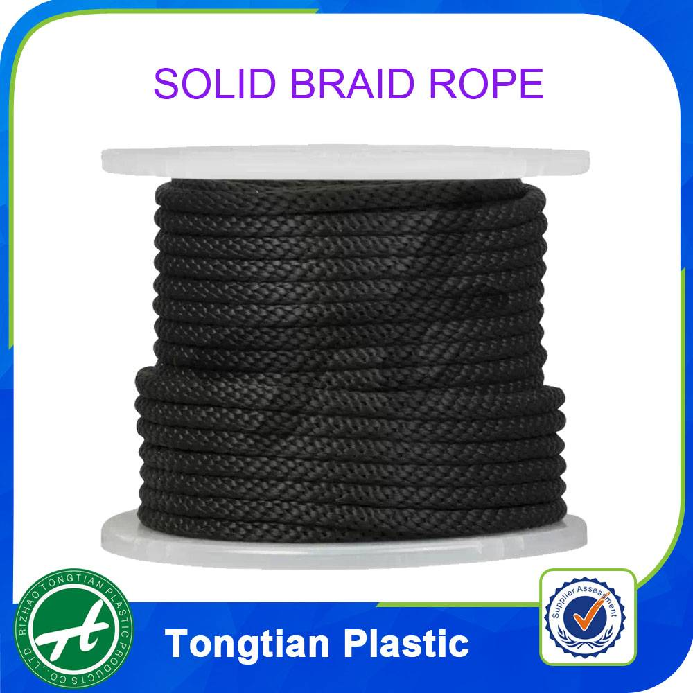 Braid PP rope China supplier