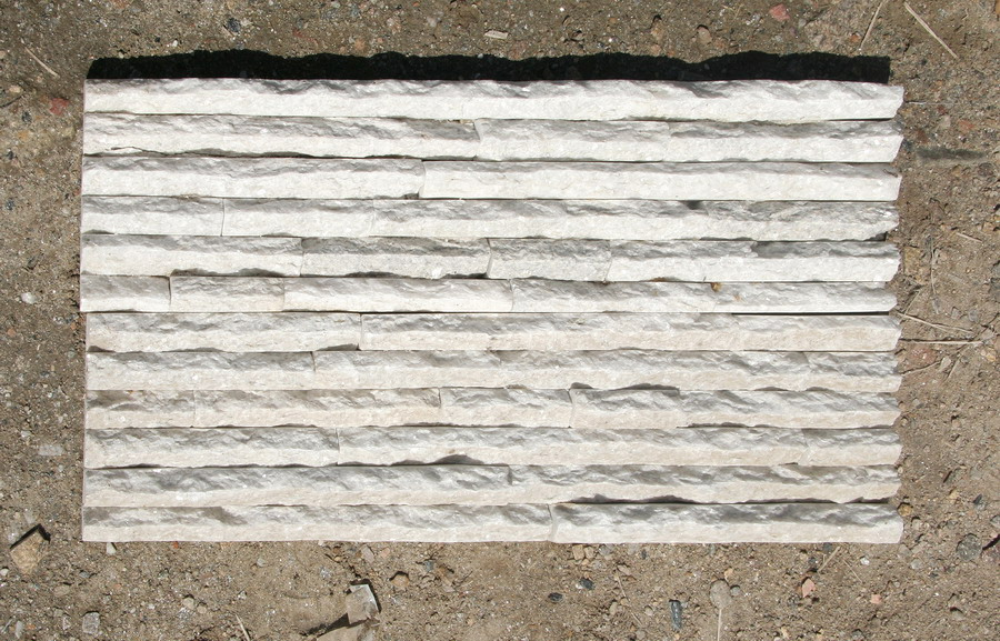 white mountain stone panel for wall cladding decoration