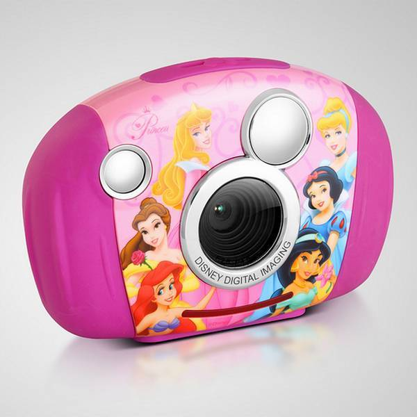 Kids Digital Cameras-1.8 Inch TFT-3.1 Mega Pixel-Smile Shot-Disney Princess-Kliq Smart DDC130