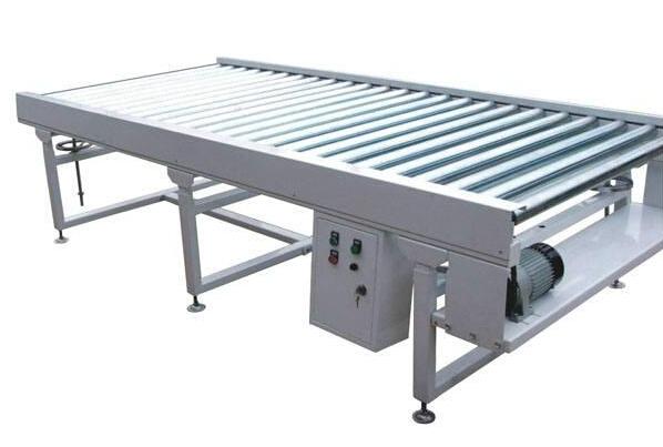 plast link roller conveyor for carton box