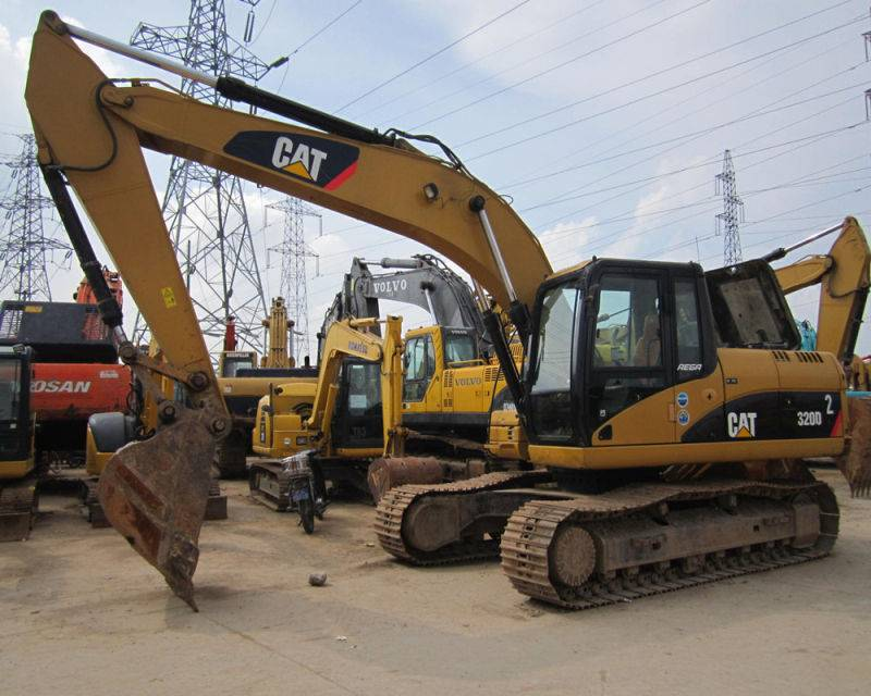 used excavator 320D