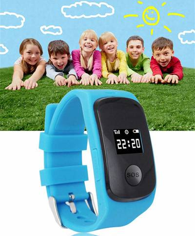 Children SOS/GPS Tracking Smart Watch