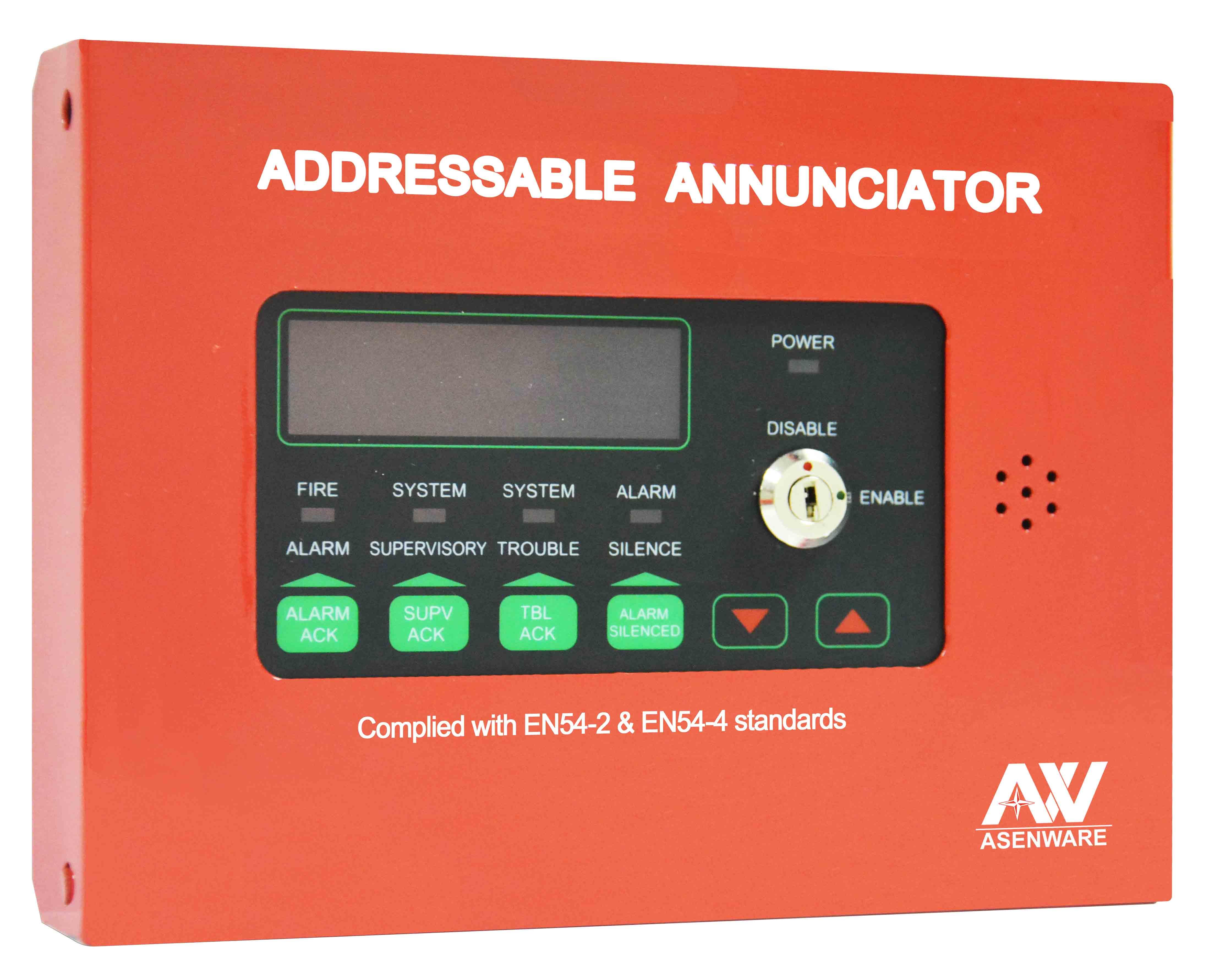 Addressable fire alarm Annunciator Panel Repeater